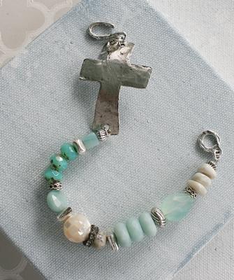 Sideway Cross Bracelet
