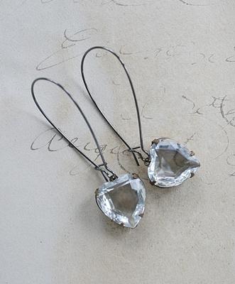 The Sweet Earrings -  Clear