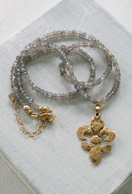 The Fleur de Lis Necklace
