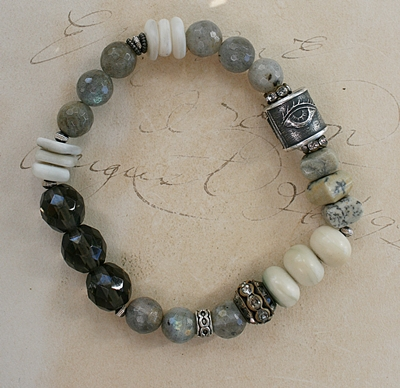Semi-Precious Stretch Bracelets