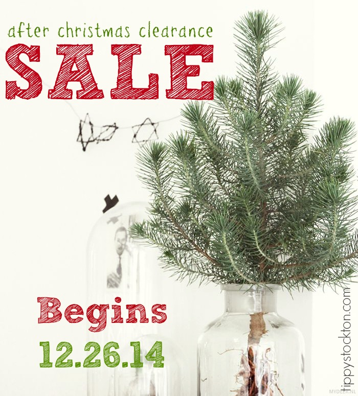 After Christmas Sale and Clearance