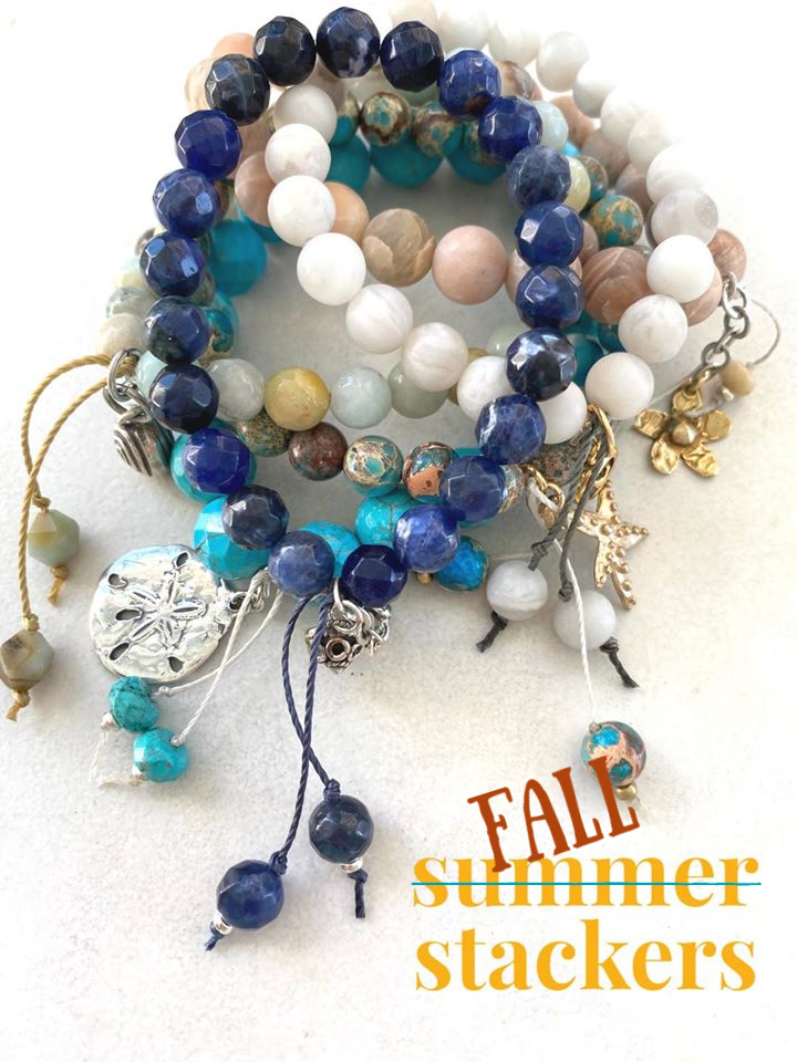 Summer Stackers - Mala Stretch Bracelet