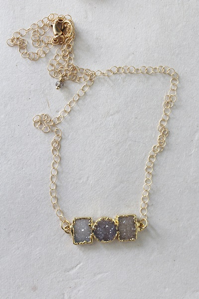 Druzy & 14kt Gold Necklace - Take your Pick