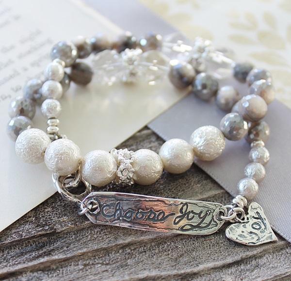 Choose Joy Holiday Bracelet - The Christmas Joy Bracelet