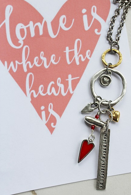 Special Order Only The HOME Charm Necklace