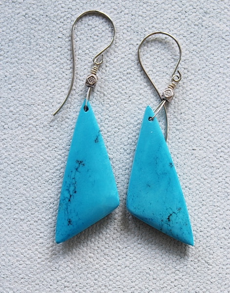 Magnesite Stone Earrings