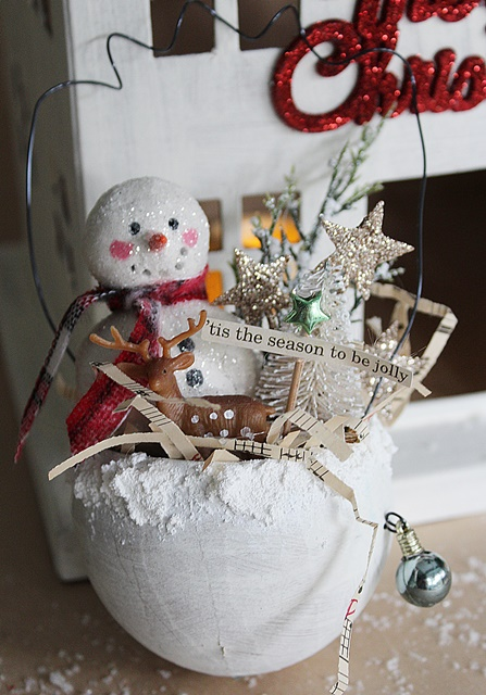 Holiday POP-UP Shop - Snowman in a Cup