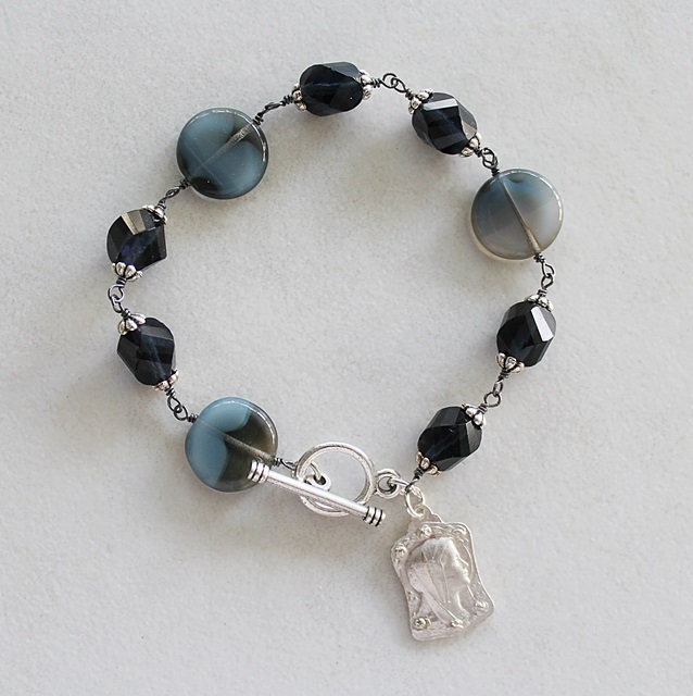 Mixed Czech Glass Bracelet - The Fatima Bracelet