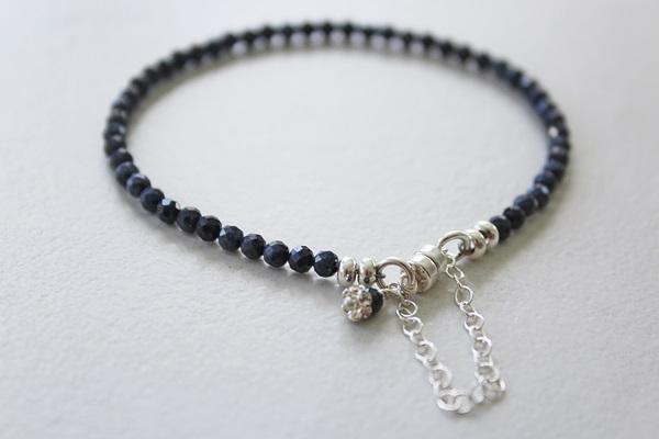 Sapphire Skinny Bracelet - The September Bracelet