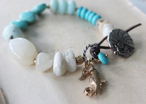 Mixed Gem Beach Bracelet - The Hanalei Bay Bracelet