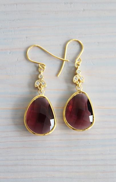 Morganite and CZ Earrings - The Morgan Earrings