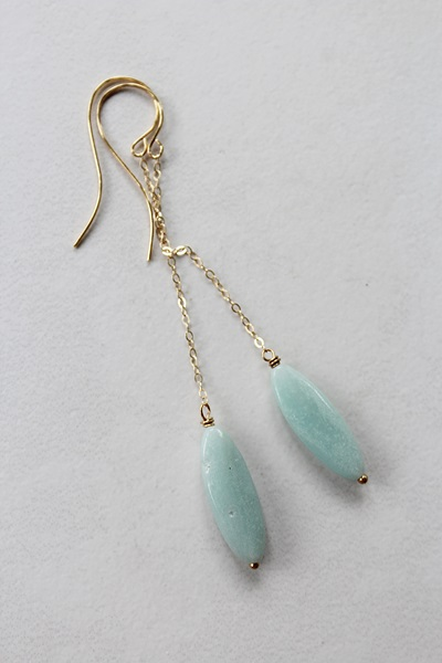 Amazonite Earrings - The Amanda Earrings