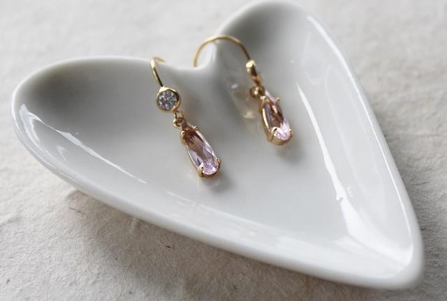 CZ Tear Drop Earrings - The Allyson Earrings