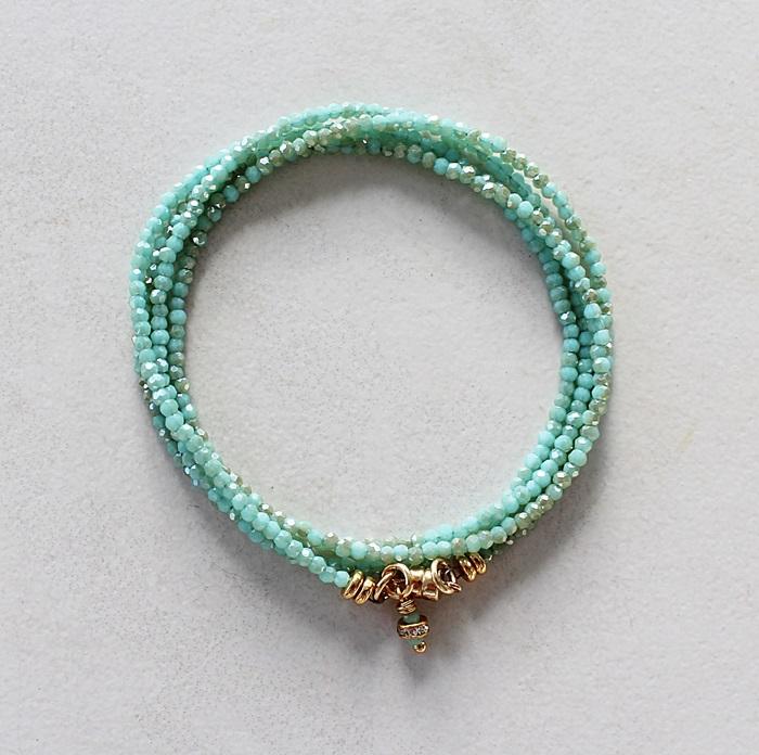 Pastel Micro Wrap Bracelets