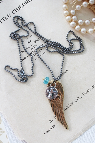 Wing and a Prayer Necklace
