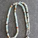 Amazonite and Jasper Necklace - The Ciara Necklace