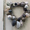 Market Day Trinket Bracelet - Black and Gold