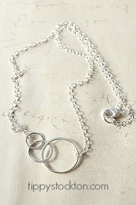 Sterling Silver Circle Necklace - The Circle Necklace