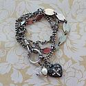Sterling Clad Convertible Bracelet/Necklace - The Sydney Bracelet/Necklace