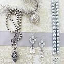 Clear Crystal Chandelier Earrings - The Carissa Earrings