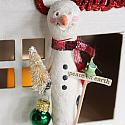 Holiday POP-UP - Clothespin Snowman