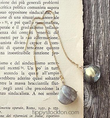 Threader Earrings in 14kt Gold or Silver - The Katrina Earrings