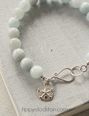 Aquamarine and Sterling Silver - The Lagoon Bracelet
