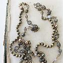 Vintage Rosary Chain Layering Necklace - The Liana Necklace
