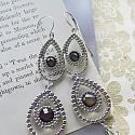 Chandelier with Swarovski Elements Earrings - The Jeanne Earrings